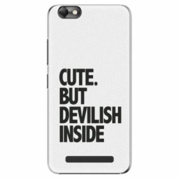 Plastové pouzdro iSaprio - Devilish inside - Lenovo Vibe C