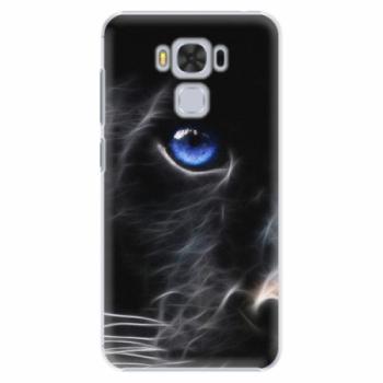 Plastové pouzdro iSaprio - Black Puma - Asus ZenFone 3 Max ZC553KL