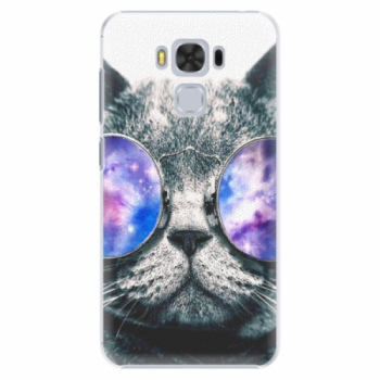 Plastové pouzdro iSaprio - Galaxy Cat - Asus ZenFone 3 Max ZC553KL