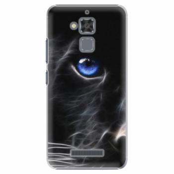 Plastové pouzdro iSaprio - Black Puma - Asus ZenFone 3 Max ZC520TL