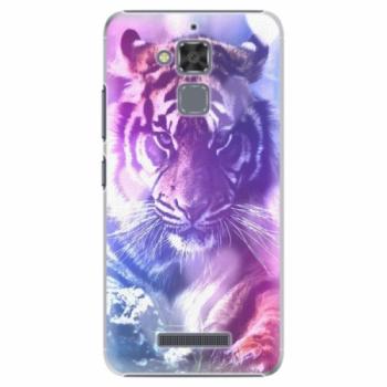 Plastové pouzdro iSaprio - Purple Tiger - Asus ZenFone 3 Max ZC520TL