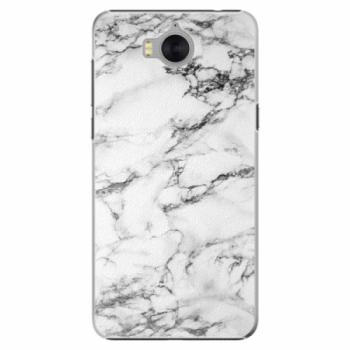 Plastové pouzdro iSaprio - White Marble 01 - Huawei Y5 2017 / Y6 2017