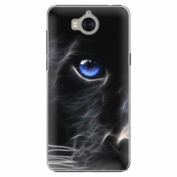 Plastové pouzdro iSaprio - Black Puma - Huawei Y5 2017 / Y6 2017