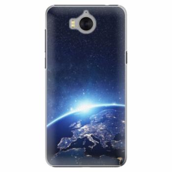 Plastové pouzdro iSaprio - Earth at Night - Huawei Y5 2017 / Y6 2017