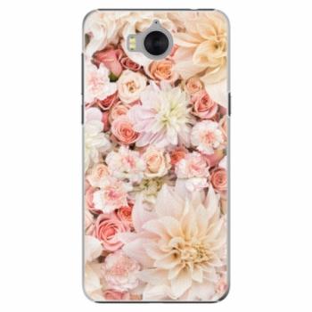 Plastové pouzdro iSaprio - Flower Pattern 06 - Huawei Y5 2017 / Y6 2017