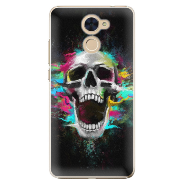 Plastové pouzdro iSaprio - Skull in Colors - Huawei Y7 / Y7 Prime