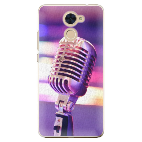 Plastové pouzdro iSaprio - Vintage Microphone - Huawei Y7 / Y7 Prime