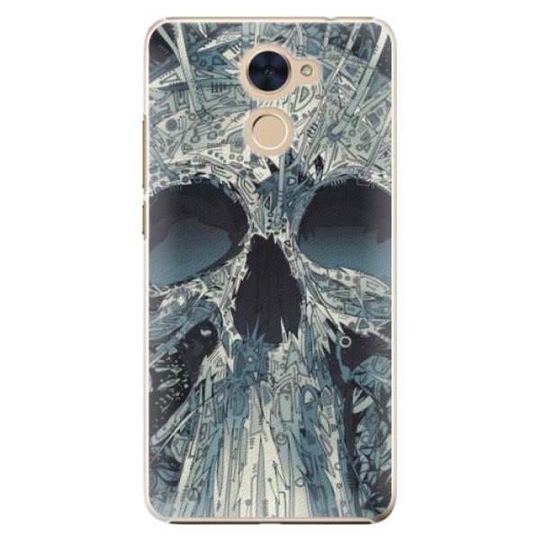 Plastové pouzdro iSaprio - Abstract Skull - Huawei Y7 / Y7 Prime