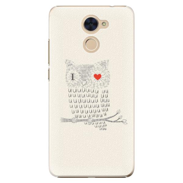 Plastové pouzdro iSaprio - I Love You 01 - Huawei Y7 / Y7 Prime