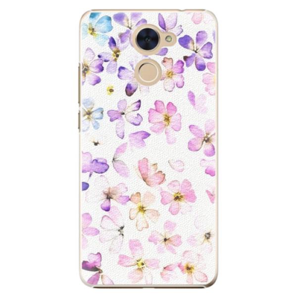 Plastové pouzdro iSaprio - Wildflowers - Huawei Y7 / Y7 Prime