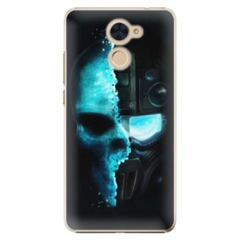 Plastové pouzdro iSaprio - Roboskull - Huawei Y7 / Y7 Prime