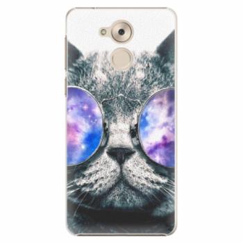 Plastové pouzdro iSaprio - Galaxy Cat - Huawei Nova Smart