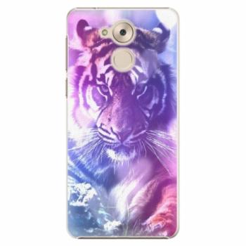 Plastové pouzdro iSaprio - Purple Tiger - Huawei Nova Smart