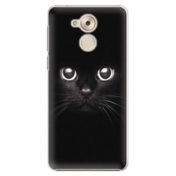 Plastové pouzdro iSaprio - Black Cat - Huawei Nova Smart