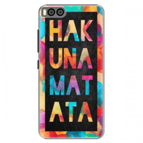 Plastové pouzdro iSaprio - Hakuna Matata 01 - Xiaomi Mi6