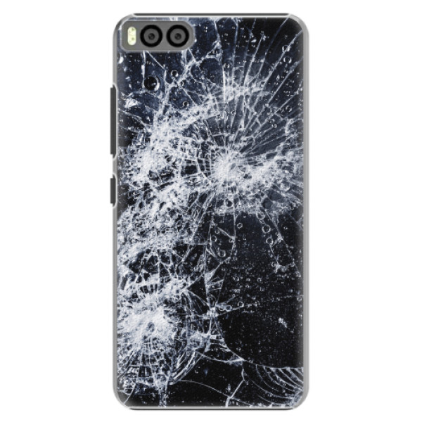 Plastové pouzdro iSaprio - Cracked - Xiaomi Mi6