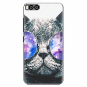 Plastové pouzdro iSaprio - Galaxy Cat - Xiaomi Mi6