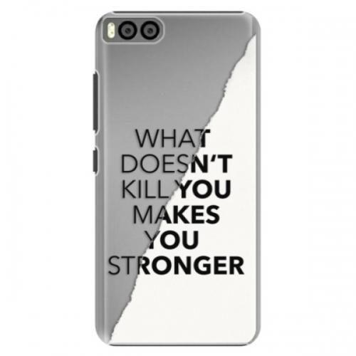Plastové pouzdro iSaprio - Makes You Stronger - Xiaomi Mi6
