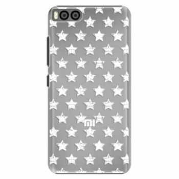 Plastové pouzdro iSaprio - Stars Pattern - white - Xiaomi Mi6