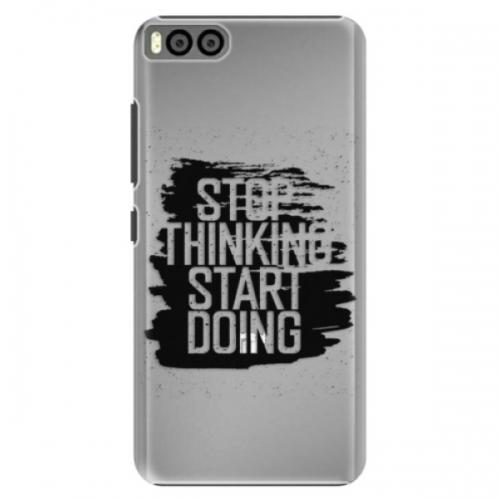Plastové pouzdro iSaprio - Start Doing - black - Xiaomi Mi6