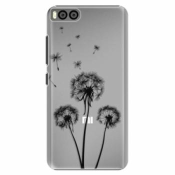 Plastové pouzdro iSaprio - Three Dandelions - black - Xiaomi Mi6