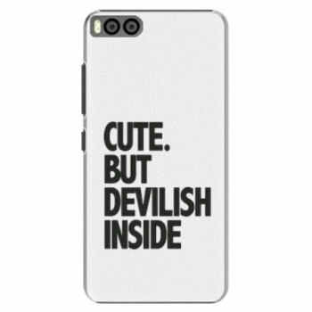 Plastové pouzdro iSaprio - Devilish inside - Xiaomi Mi6