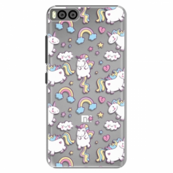 Plastové pouzdro iSaprio - Unicorn pattern 02 - Xiaomi Mi6
