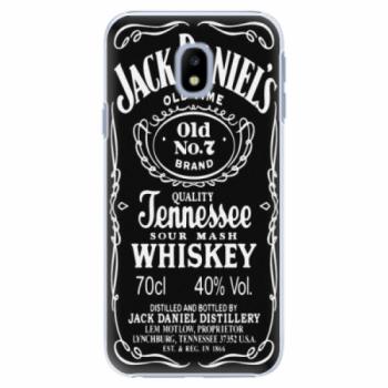 Plastové pouzdro iSaprio - Jack Daniels - Samsung Galaxy J3 2017