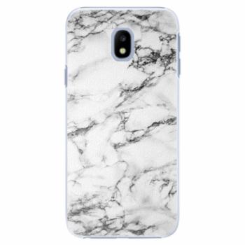 Plastové pouzdro iSaprio - White Marble 01 - Samsung Galaxy J3 2017