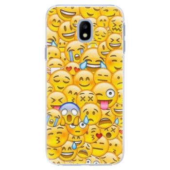Plastové pouzdro iSaprio - Emoji - Samsung Galaxy J3 2017