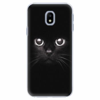 Plastové pouzdro iSaprio - Black Cat - Samsung Galaxy J3 2017