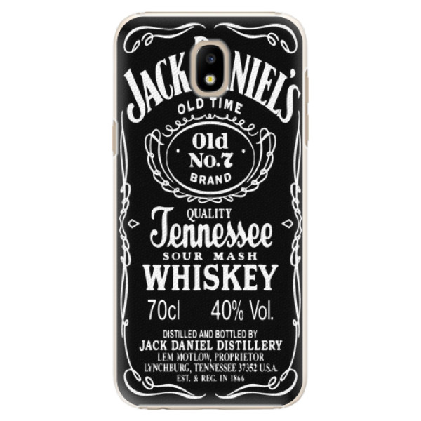 Plastové pouzdro iSaprio - Jack Daniels - Samsung Galaxy J5 2017