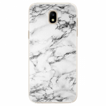 Plastové pouzdro iSaprio - White Marble 01 - Samsung Galaxy J5 2017
