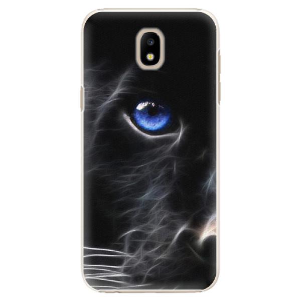 Plastové pouzdro iSaprio - Black Puma - Samsung Galaxy J5 2017