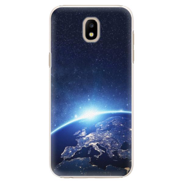 Plastové pouzdro iSaprio - Earth at Night - Samsung Galaxy J5 2017