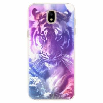 Plastové pouzdro iSaprio - Purple Tiger - Samsung Galaxy J5 2017