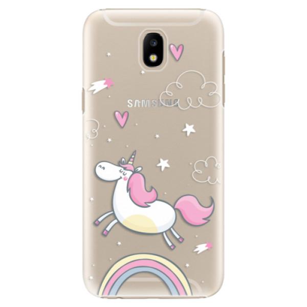 Plastové pouzdro iSaprio - Unicorn 01 - Samsung Galaxy J5 2017