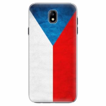 Plastové pouzdro iSaprio - Czech Flag - Samsung Galaxy J7 2017