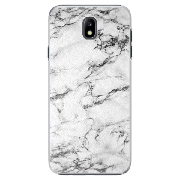 Plastové pouzdro iSaprio - White Marble 01 - Samsung Galaxy J7 2017
