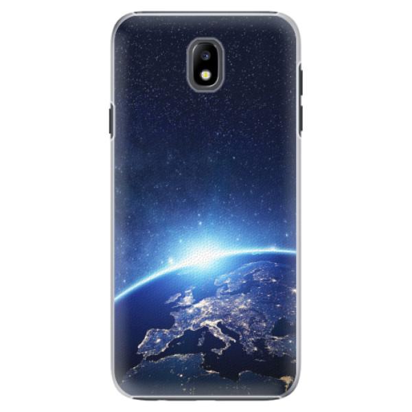 Plastové pouzdro iSaprio - Earth at Night - Samsung Galaxy J7 2017