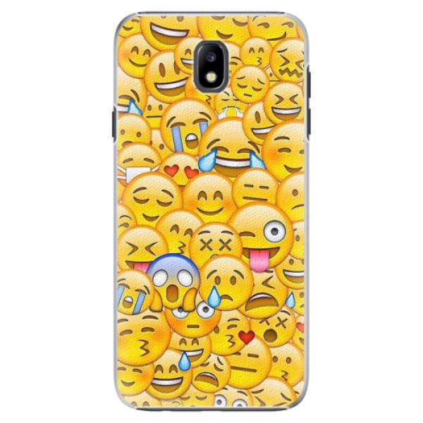 Plastové pouzdro iSaprio - Emoji - Samsung Galaxy J7 2017