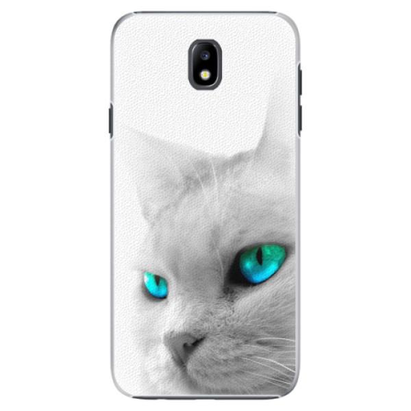 Plastové pouzdro iSaprio - Cats Eyes - Samsung Galaxy J7 2017