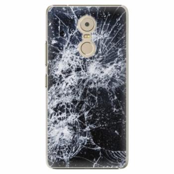 Plastové pouzdro iSaprio - Cracked - Lenovo K6 Note