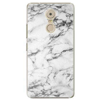 Plastové pouzdro iSaprio - White Marble 01 - Lenovo K6 Note