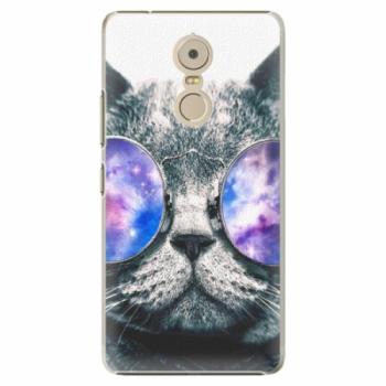 Plastové pouzdro iSaprio - Galaxy Cat - Lenovo K6 Note