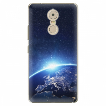 Plastové pouzdro iSaprio - Earth at Night - Lenovo K6 Note