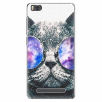 Plastové pouzdro iSaprio - Galaxy Cat - Xiaomi Mi4C