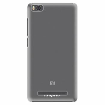 Plastové pouzdro iSaprio - 4Pure - mléčný bez potisku - Xiaomi Mi4C