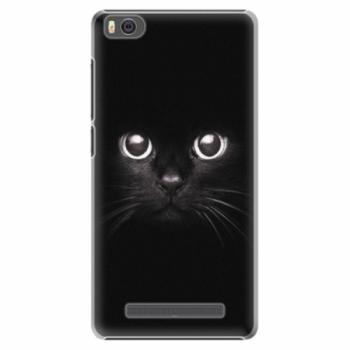 Plastové pouzdro iSaprio - Black Cat - Xiaomi Mi4C