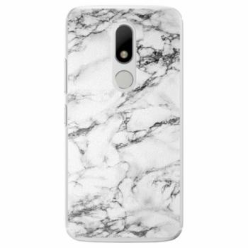 Plastové pouzdro iSaprio - White Marble 01 - Lenovo Moto M